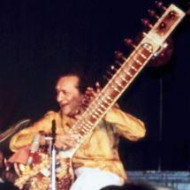 Ravi Shankar. Image by Alephalpha, Wikimedia Commons
