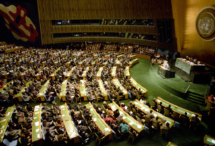 United Nations' General Assembly meeting. Photo by Commons:RIA Novosti, on Wikimedia Commons.