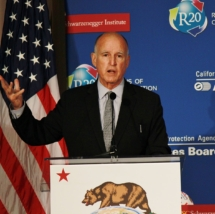 Jerry Brown. California Air Resources Board image, Wikimedia Commons.