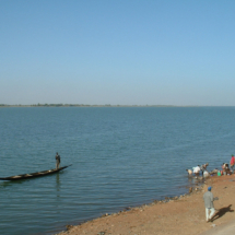 The Niger river in Mali.